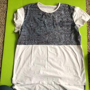 Light grey lululemon T-shirt size 6